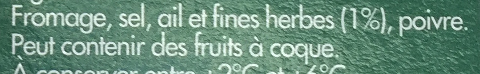 Fromage Ail et Fines Herbes (24 % MG) - Ingrédients - fr
