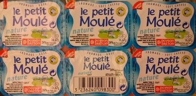 Le Petit Moulé nature (24% MG) - Produit - fr