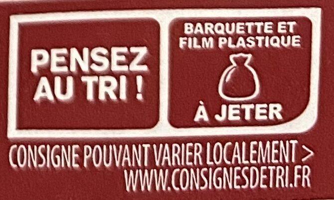 Mini knacks d'alsace - Instruction de recyclage et/ou informations d'emballage - fr
