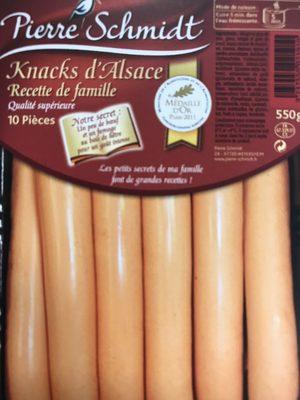 Knacks d'Alsace Qualité Supérieure - Recette de Famille - Product - fr