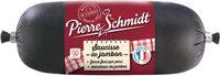 Pierre Schmidt, Saucisse de jambon, piecette, le - Produit - fr