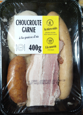 Choucroute garnie à la graisse d'oie - Produit