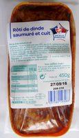Rôti de dinde saumuré et cuit - Produit - fr