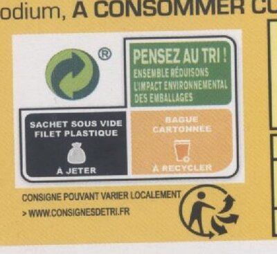 Palette à la diable - Istruzioni per il riciclaggio e/o informazioni sull'imballaggio - fr