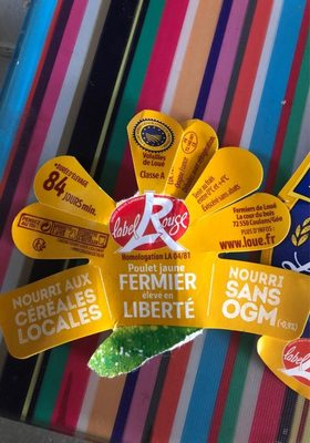 Fermiers de Loue poulet fermier jaune - Ingrediënten