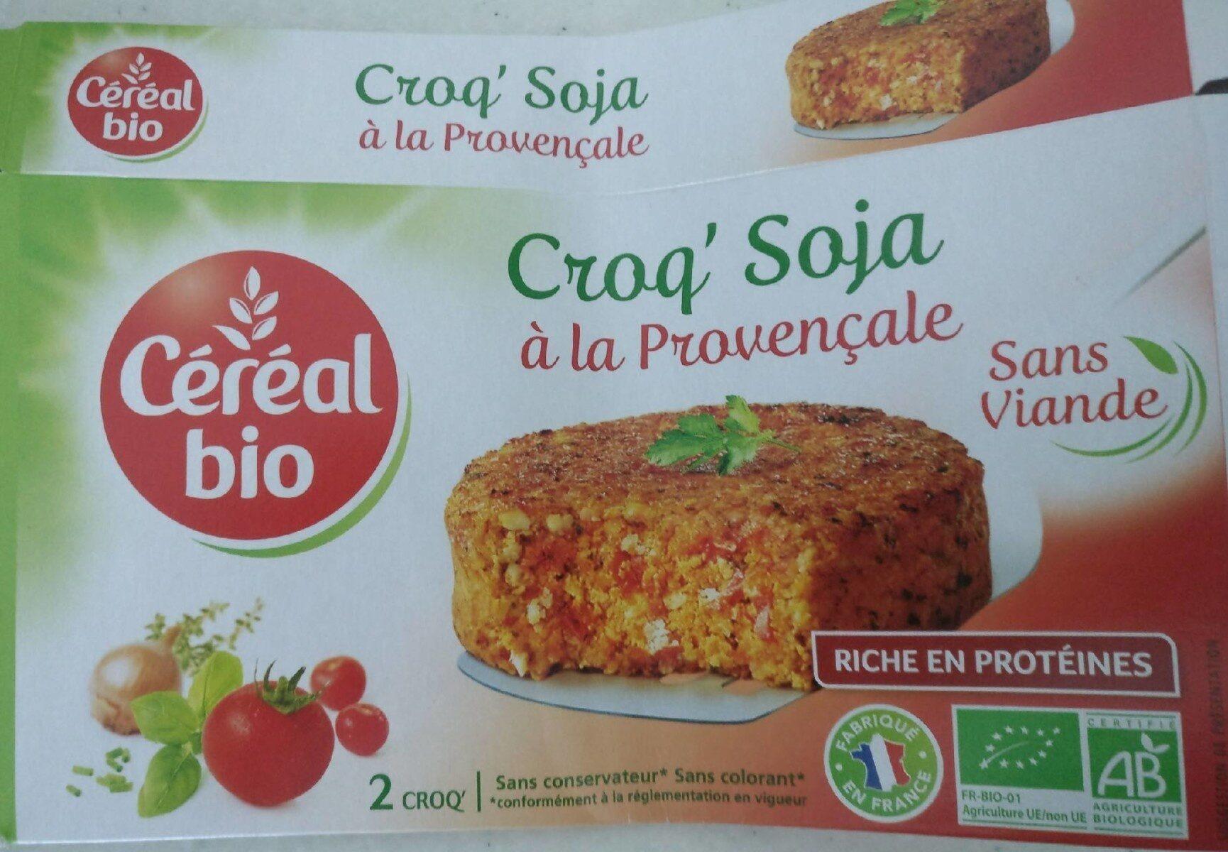 Croq'Soja à la Provençale - Produit