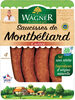 Saucisse de Montbéliard IGP cuite 4x120g sous vide VPF BBC - Product