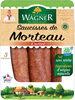 Saucisse de Morteau cuite IGP 3x140g sous gaz VPF BBC PW - Produkt