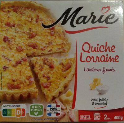 Quiche Lorraine, Lardons et Jambon supérieur fumés - Product - fr