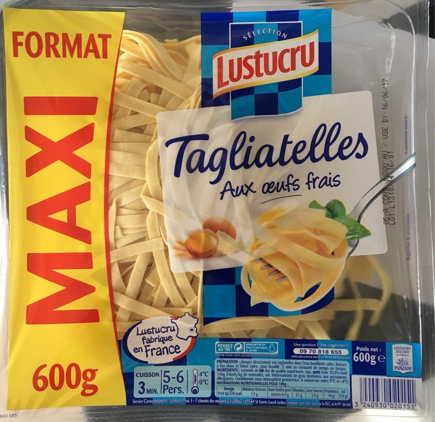 Tagliatelles aux œufs frais (Format Maxi) - Product