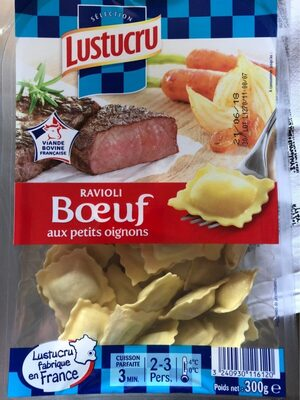 Ravioli Boeuf aux petits oignons - Produit - fr