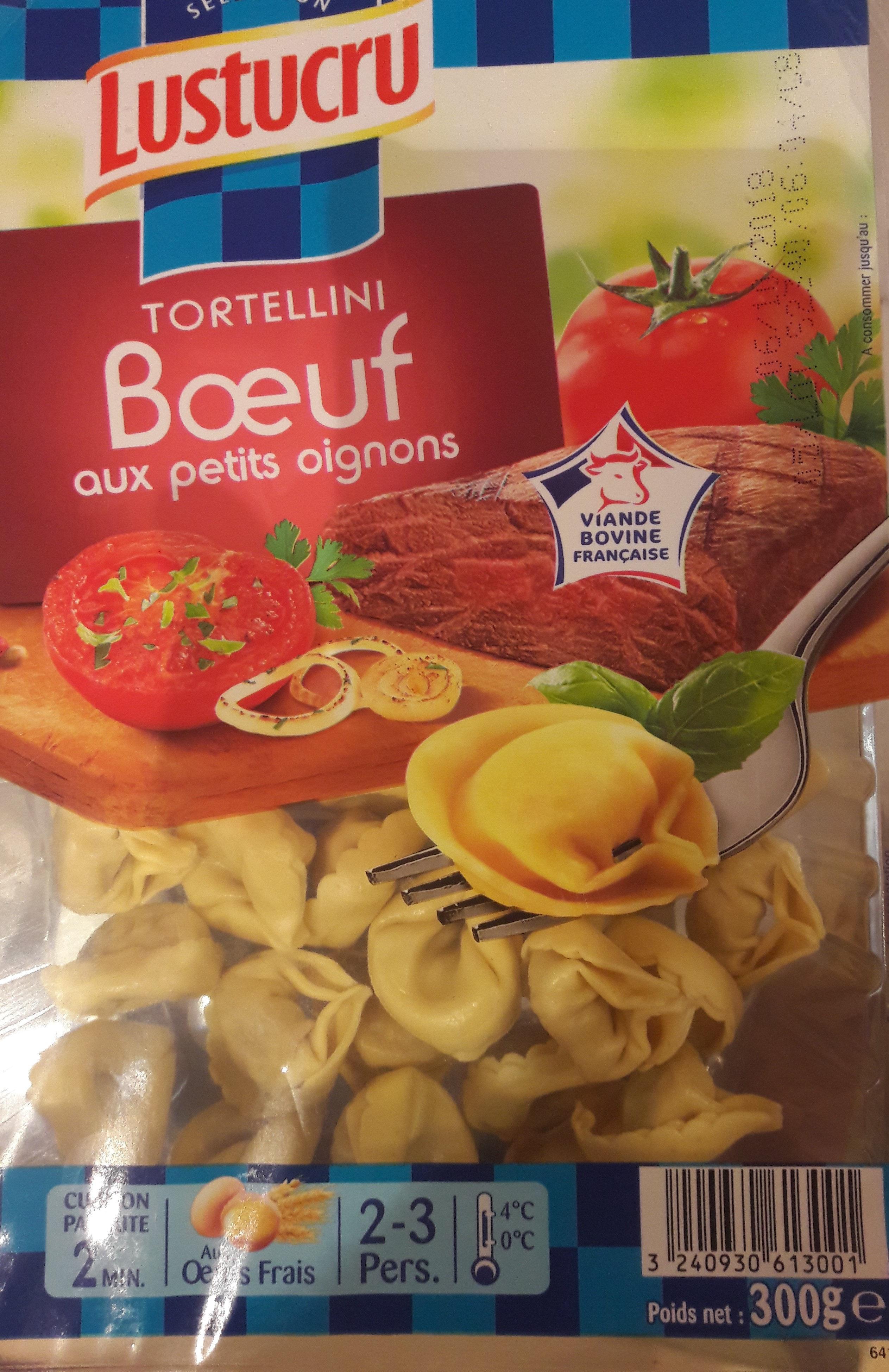 Tortellini, Bœuf aux petits oignons - Produit