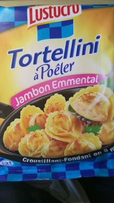 Tortellini à Poêler, Jambon Emmental - Produit - fr