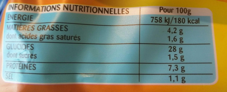 Tortellini à Poêler, Jambon Emmental - Informations nutritionnelles - fr