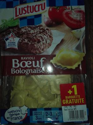 Lustucru Ravioli Bolognaise 2x300g +1 Paquet Gratuit - Produit - fr