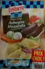 Demi-lune aubergine mozzarella - Produit