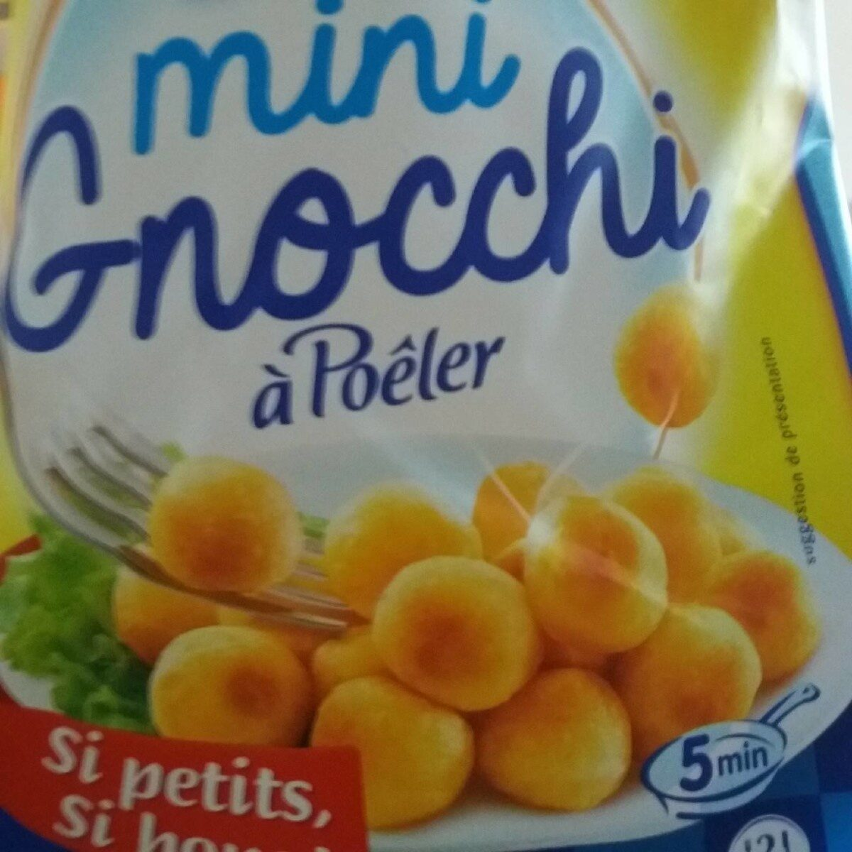 Mini gnocchi a poeler 300g lustucru - Informations nutritionnelles - fr