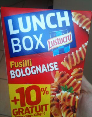 Fusilli Bolognaise, LunchBox (+ 10 % Gratuit) - Produit