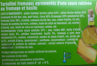 Tortellini Pesto (+ 10 % Gratuit), LunchBox - Ingrédients