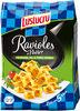 Lustucru ravioles a poeler ail fromages et fines herbes - Produit
