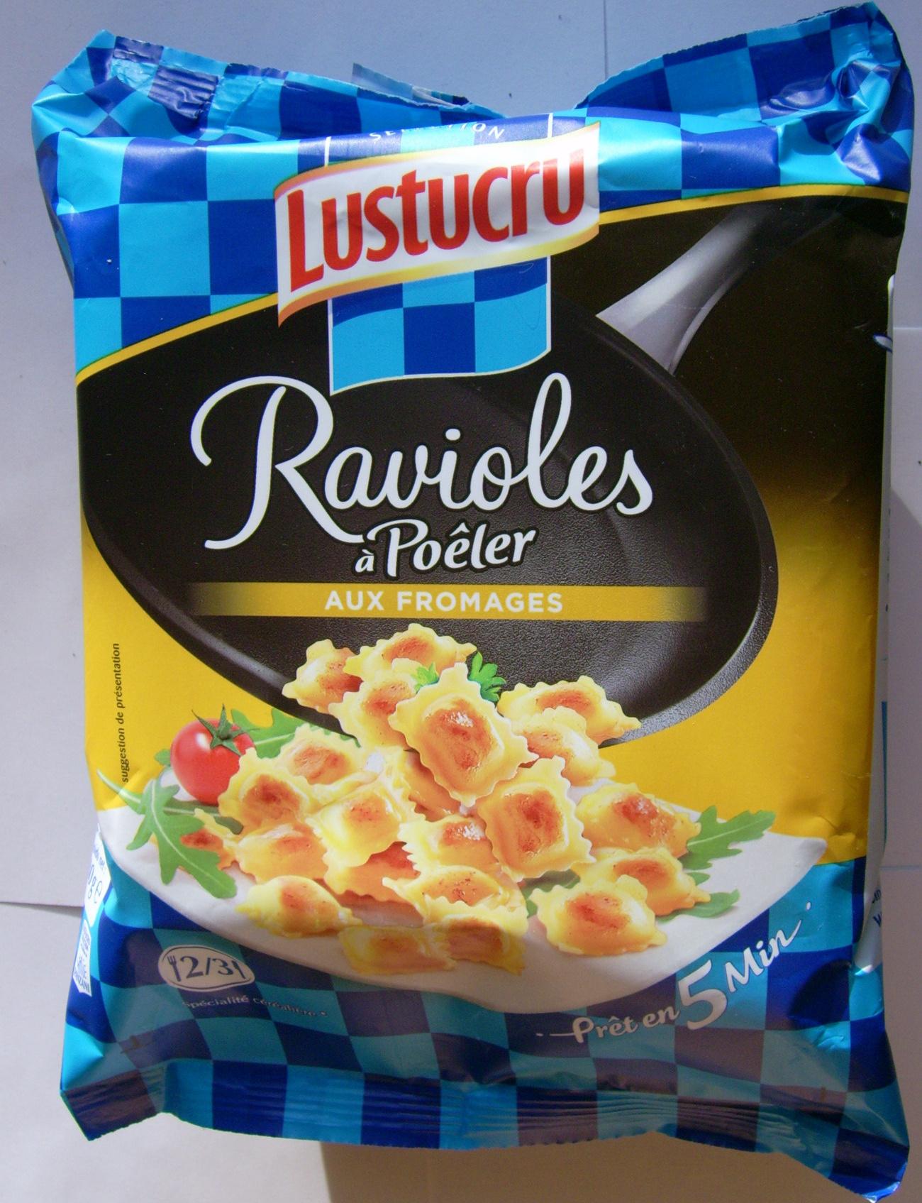 Ravioles à poêler aux fromages - Produit - fr