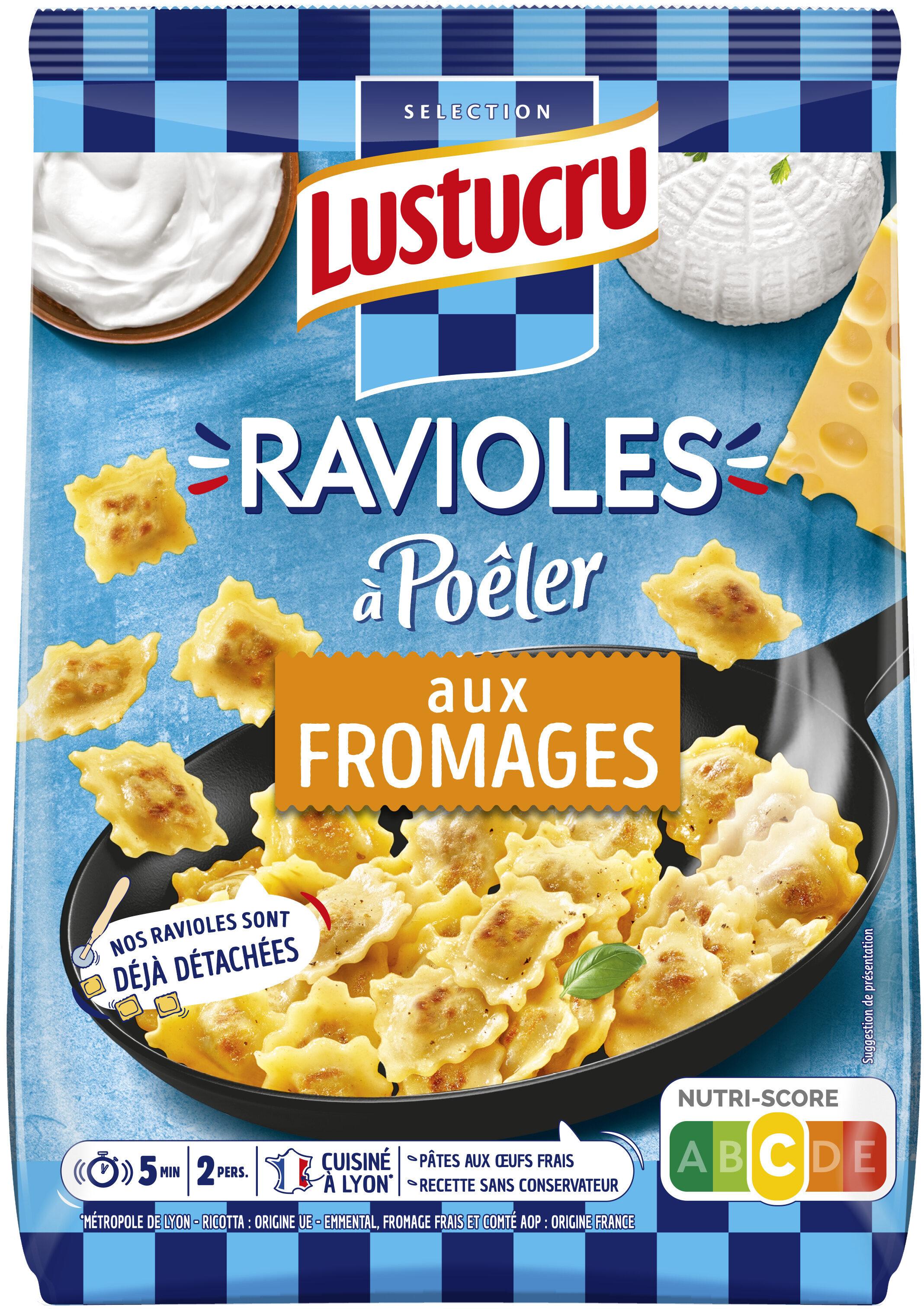 Lustucru ravioles a poeler fromages selectionnes - Product - fr