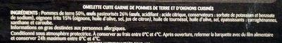 Tortilla - Ingredients - fr