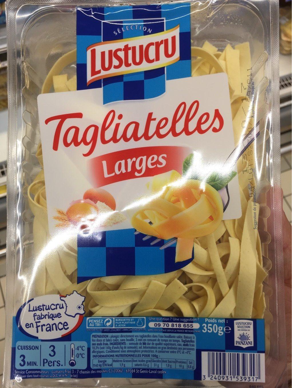 Tagliatelles larges - Nutrition facts