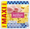 Lustucru ravioli jambon fromage format maxi500g - Prodotto