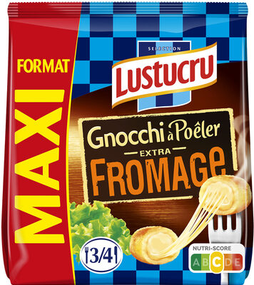 Lustucru gnocchi a poeler extra fromage maxi - Product - fr