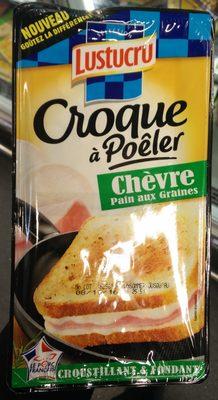 Croque à Poêler - Chèvre - Pain aux Graines - Produit