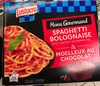 Menu Gourmand Spaghetti Bolognaise & Moelleux au Chocolat - Product