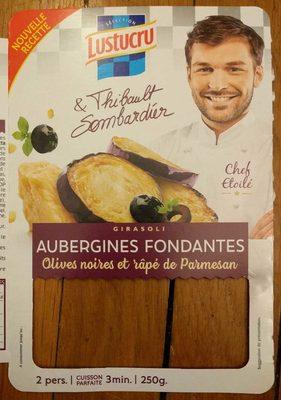 Pâtes fraîches lustucru Girasoli aubergines - Product