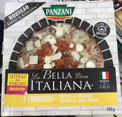 La Bella Pizza Italiana 4 Formaggi - Produit - fr