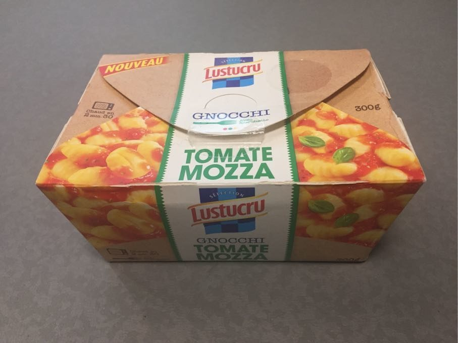 Gnocchi Tomate Mozza - Produit - fr