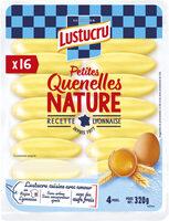 Lustucru petites quenelles nature 16x20g - Product - fr