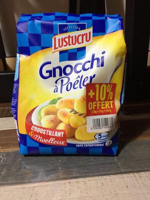 Gnocchi a poeler nature - Product