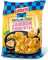 Lustucru tortellini a poeler jambon emmental - Produit - fr