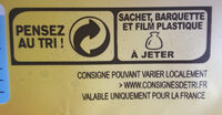 Lustucru tortellini a poeler jambon emmental - Recycling instructions and/or packaging information - fr
