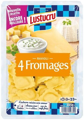 Ravioli 4 fromage - Product - fr