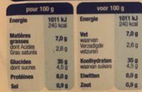 Demi-lune tomate basilic mozzarella - Voedingswaarden - fr