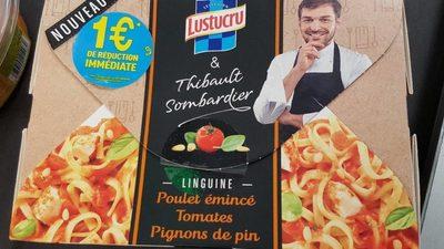 Linguine Poulet Emincé Tomates Pignons de Pin - Product