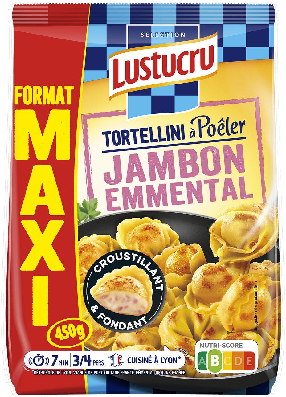 Lustucru selection tortellini a poeler maxi jambon emmental - Produit - fr