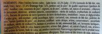 Lustucru selection tortellini a poeler maxi jambon emmental - Ingrédients - fr