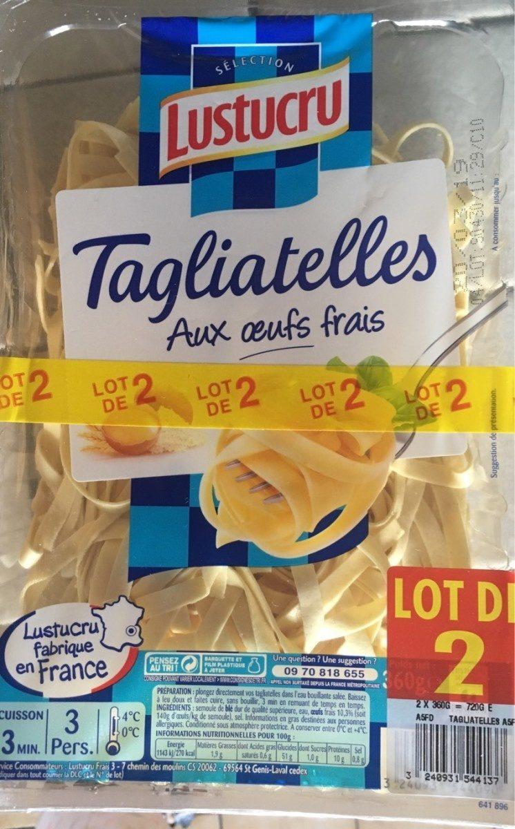 Tagliatelle Oeufs frais - Produit - fr