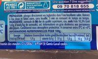Tagliatelle Oeufs frais - Ingrédients - fr
