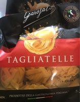 Tagliatelle - Ingredients