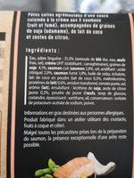 Linguine - Ingredients