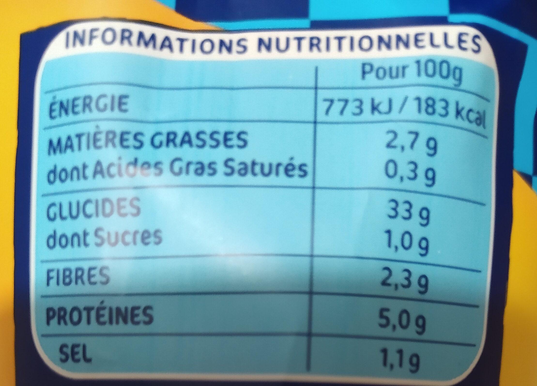 Lustucru gnocchi a poeler - Nutrition facts - fr