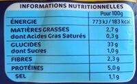 Lustucru gnocchi a poeler - Informations nutritionnelles - fr